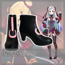 Nekocos SAO Sword Art Online Ordinal Scale YUNA Cosplay Shoes Customized{COS{