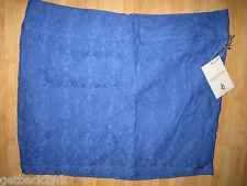 NEW* VOLCOM LACED WAVE MINI SKIRT SHORTS 1 3 5 7 9 BRIGHT BLUE