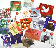 Artgroup charité Cartes de Noël Pingouin BONHOMME de NEIGE GUI rois Robin pk5 ou 10