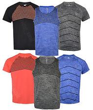 Luz De Manga Corta Para Hombre Reflectante Correr/Gimnasio Camisetas Chaleco Músculo Neón
