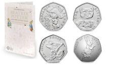 Beatrix Potter 2017 50p coin album folder NEW unused Peter Rabbit and friends