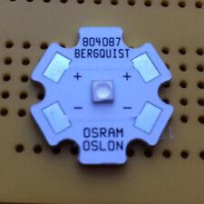 Osram OSLON Square Royal Deep Blue 450nm 2W LED Emitter & Star Mounted 1035mW