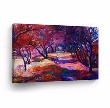 Modern Oil Painting on Canvas Print Wall Decor Art Framed %100 Handmade OPH27