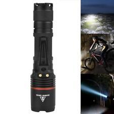 8000 LM  L2 LED Tactical Police Flashlight Torch Lamp Light 18650 5 Modes BG