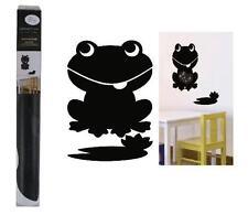 Mal - Tafel - Folie mit Kreide Tiermotiv Affe Frosch Schmetterling Wand - Tattoo