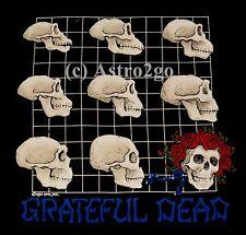 EVOLUTION--Liquid Blue Grateful Dead Strange Trip Skulls Science T shirt M-6XL