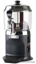 COMMERCIAL DRINKING CHOCOLATE MACHINE HOT BEVERAGE SHOT DISPENSER - BLACK - 5L