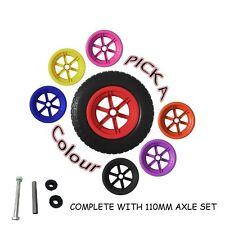 """Rayons 14"""" Crevaison Preuve Brouette roue pneu 3.50 4.00 - 8 Plus Lot"""