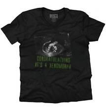 Congratulations Xenomorph Alien Shirt | Cute Baby Clothes AVP V-Neck T Shirt