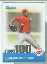 Aroldis Chapman Cincinnati 2010 Bowman Topps 100