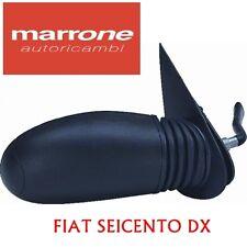 SPECCHIO SPECCHIETTO RETROVISORE DESTRO C/LEVA FIAT SEICENTO 600 1998> 82970