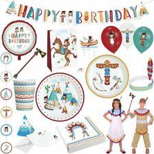 Indian Children Birthday Party Decor Set Decoration Birthday Tipi Party Items