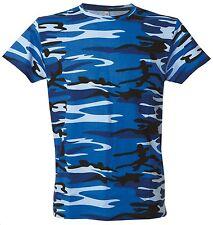 Ibiza Camouflage Grey - codice: 990021  T-shirt manica corta girocollo