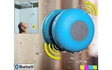 Waterproof Mini HiFi Bluetooth Handsfree Mic Suction Shower Speaker Car Stereo