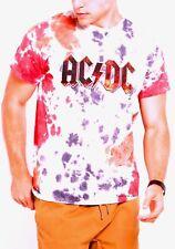AC/DC Logo T-Shirt Highway To Hell metal rock Official Tie Dye M L 2XL NWT