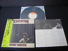 Herbie Hancock Dedication Japan Vinyl LP with OBI  incl. NOBU