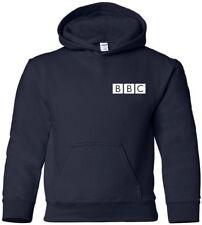 BBC Hooded Sweatshirt BRITISH FUNNY Hoodie RETRO FUNNY NEWS HOODY