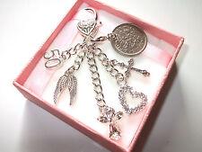 Personalised 30th 40th 50th 60th Birthday Gift handbag keepsake charm key Retire