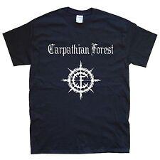 CARPATHIAN FOREST T-SHIRT sizes S M L XL XXL colours Black, White