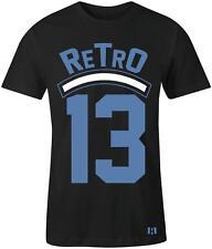 """""""Retro 13"""" T-shirt to Match Retro 13 Low  """"Brave Blue"""""""