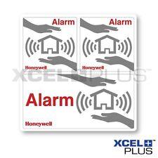 Honeywell Alarm Window Stickers 3 pieces Burglar/Intruder systems HS3WS2S