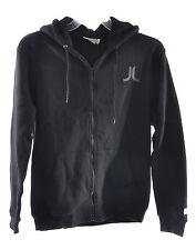 WeSC Men's Icon Zip Up Hoodie Sweatshirt Black Size S