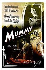 Vintage Boris Karloff The Mummy Movie Poster A3/A2/A1 Print