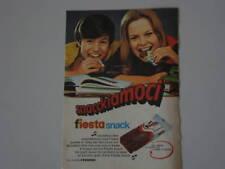 advertising Pubblicità 1970 FERRERO FIESTA