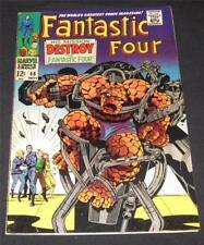 FANTASTIC FOUR #68 VF- (7.5) - 12¢ cover Marvel Comic