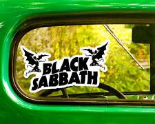 2 BLACK SABBATH DECALs Sticker Bogo For Car Window Bumper Laptop Free Shipping