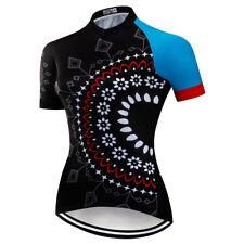 Women's Cycling Jersey Bicycle Short Sleeve Shirt Cycling Top Bike Clothing XR01