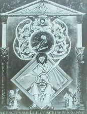 Munich: circa. 1002,Gospels of Otto III, St. John,Magic Lantern Glass Slide