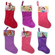 Disney Kids Christmas Stocking Felt Holiday Xmas Home Decoration (6 Characters)