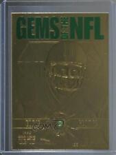 1997 Pro Line Gems of the NFL 23K Gold #G7 Eddie George Houston Oilers Card