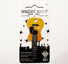 Acoustic Guitar House Key Blank KW1 KW11 Kwikset