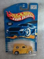 Hot Wheels    2001-097  Anglia Panel   Yellow   1:64 scale   (2)