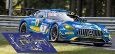 Calcas Mercedes AMG GT3 24h Nurburgring 2017 1:32 1:43 1:24 1:18 GT slot decals