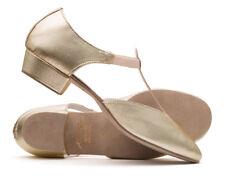 Or Métallique Pu Danse Chaussures de Contemporaines Salle Bal Katz