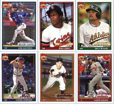 2016 Topps Archives Baseball - Base Cards (1991 Design) - Pick Card #'s 201-300