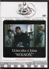 Ucieczka z kina Wolnosc (DVD)  Janusz Gajos  POLSKI POLISH