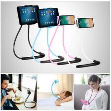 Universal Lazy Neck Phone Holder Flexible Rotation Mobile Stand Tablet Bracket