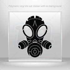 Stickers Decal Gas Mask Skull Car Motorbike Bike Garage bike st5 ZE565