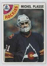 1978-79 Topps #36 Michel Plasse Colorado Rockies Hockey Card