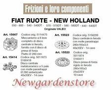 Clutch disc mower 550 600 540 570 640 FIAT WHEEL NEW HOLLAND 15667 VALEO