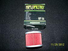 Honda ATV & MX  ---  CRF 250/450   &  TRX 450 - Oil Filter - 116