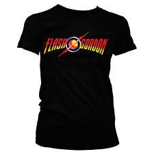 Officially Licensed Flash Gordon Logo Women T-Shirt S-XXL Sizes