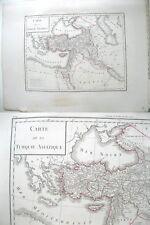 Vintage Map,TURQUE ASIATIQUE,c.19thC.,Tardieu