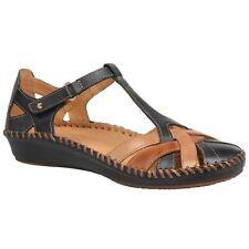 Pikolinos Puerto Vallarta 655-0732C5 Navy Blue Womens Leather Sandals