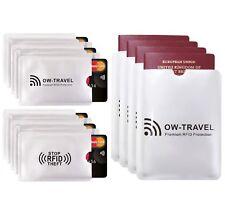 ✅RFID NFC BLOCKING OYSTER CREDIT DEBIT CARD PASSPORT ID PROTECTION SLEEVE HOLDER