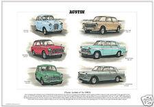 Austins classique des années 1960 fine art print-A30 1100